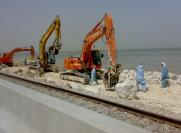 DOUBLING OF RAIL WAY LINE FORM DAMMAM PORT TO RAIL WAY STORE AREA